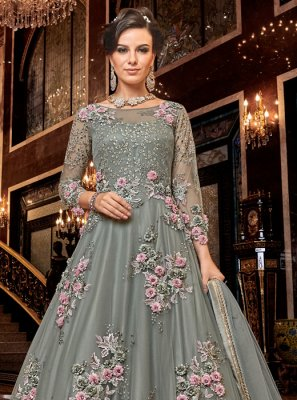 Net Reception Designer Salwar Suit