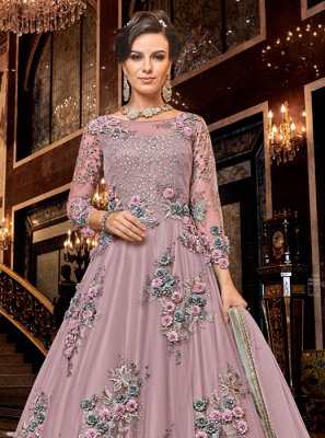 Net Wedding Anarkali Salwar Kameez