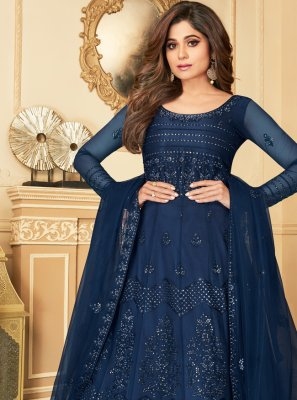 Net Wedding Anarkali Suit