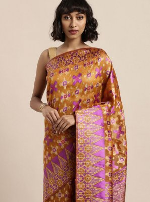 Organza Festival Designer Traditional Saree