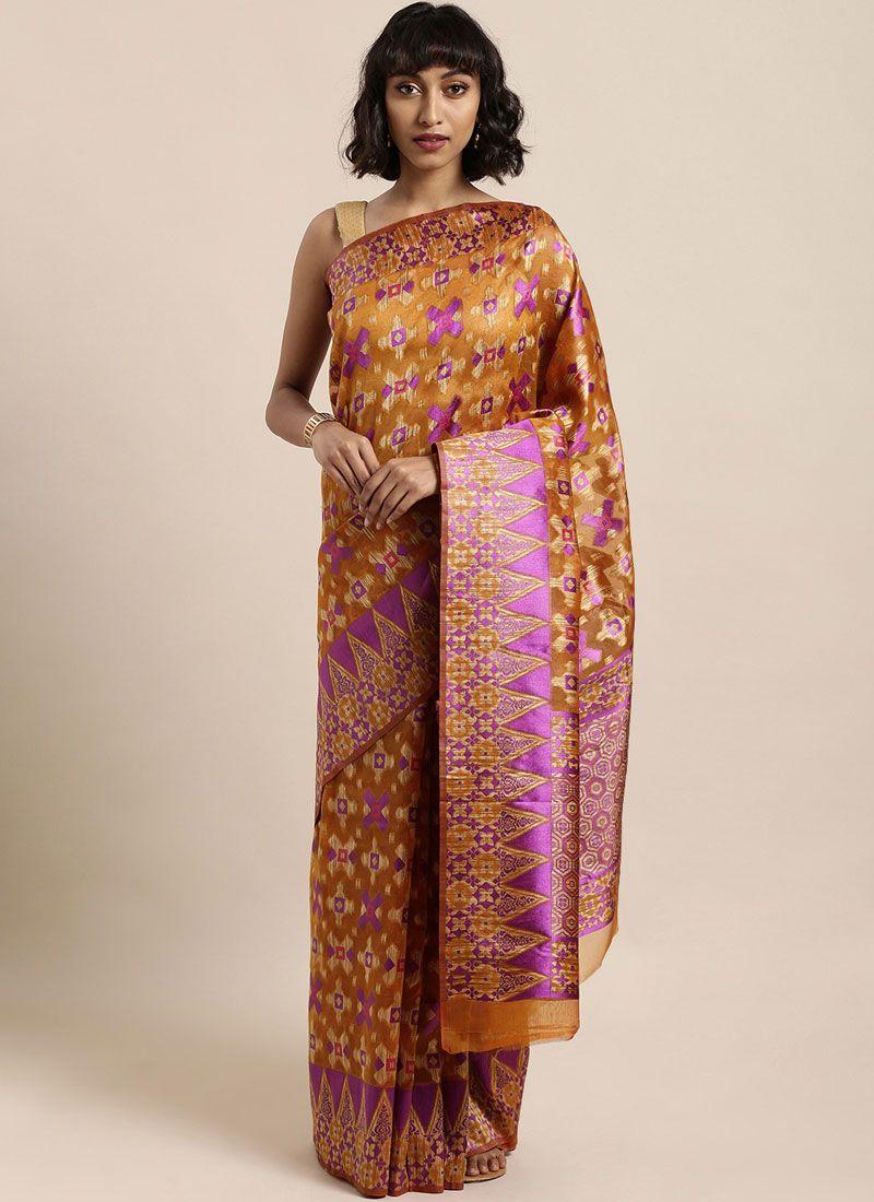 Organza Festival Designer Traditional Saree