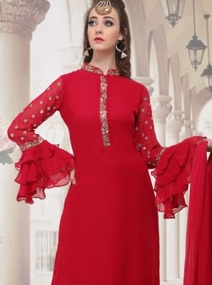 Palazzo Salwar Suit For Festival