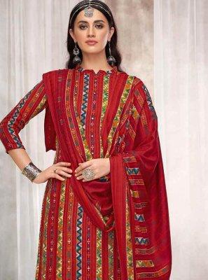 Pashmina Casual Designer Palazzo Salwar Kameez