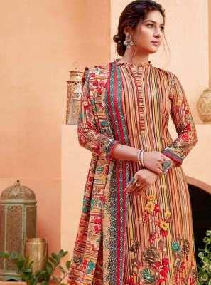 Pashmina Digital Print Trendy Suit