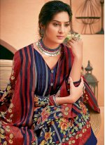 Pashmina Multi Colour Digital Print Trendy Salwar Suit