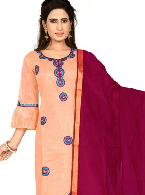 Peach Color Salwar Suit