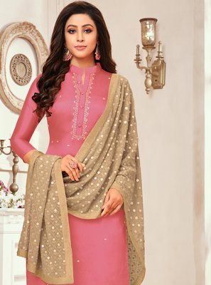 Pink Ceremonial Salwar Suit