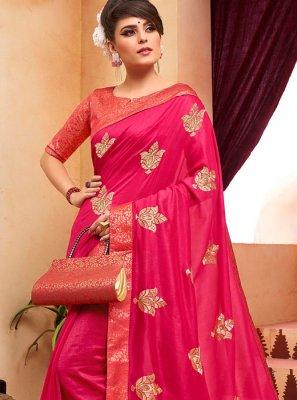 Pink Classic Designer Saree