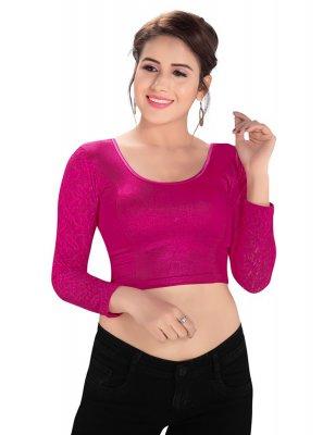 Pink Color Blouse