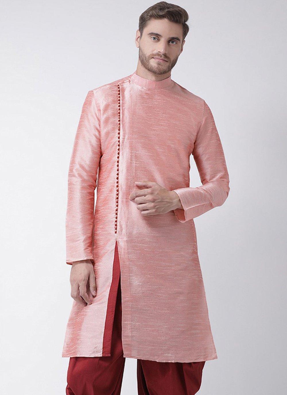 Pink Color Kurta