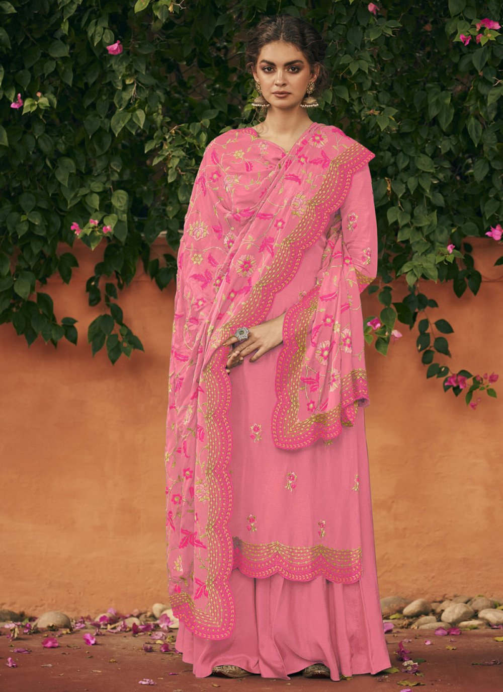 Pink Color Salwar Suit