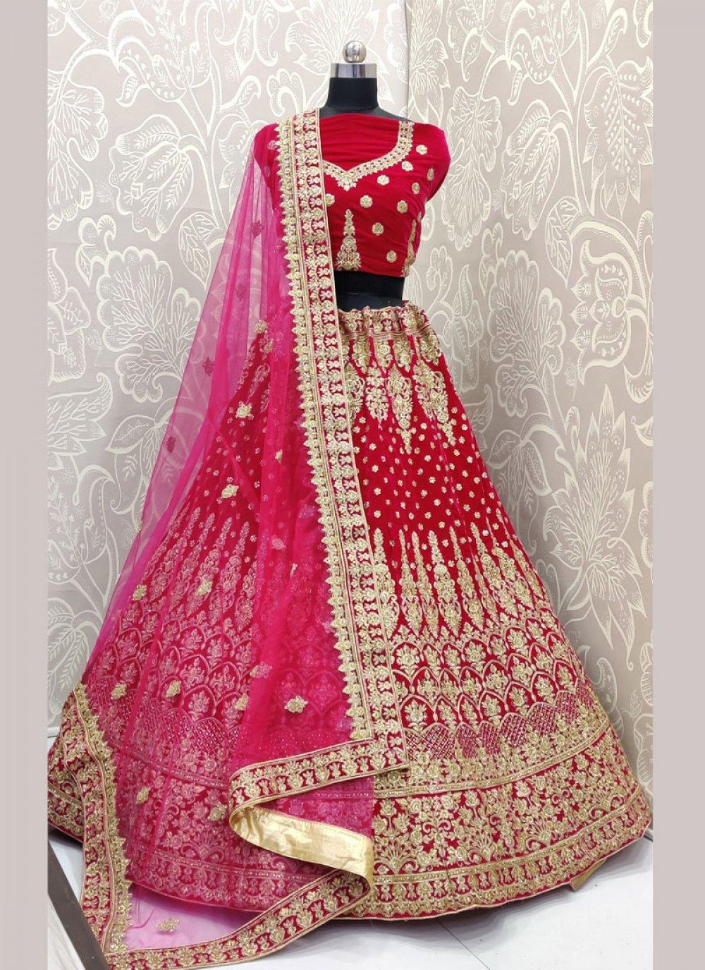 Pink Color Trendy Designer Lehenga Choli