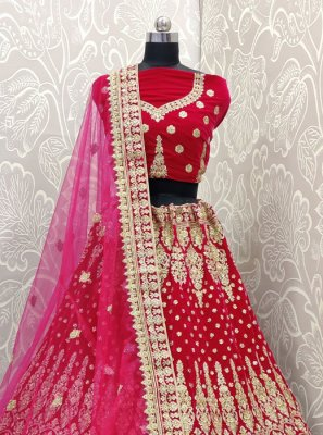 Pink Color Trendy Designer Lehenga Choli