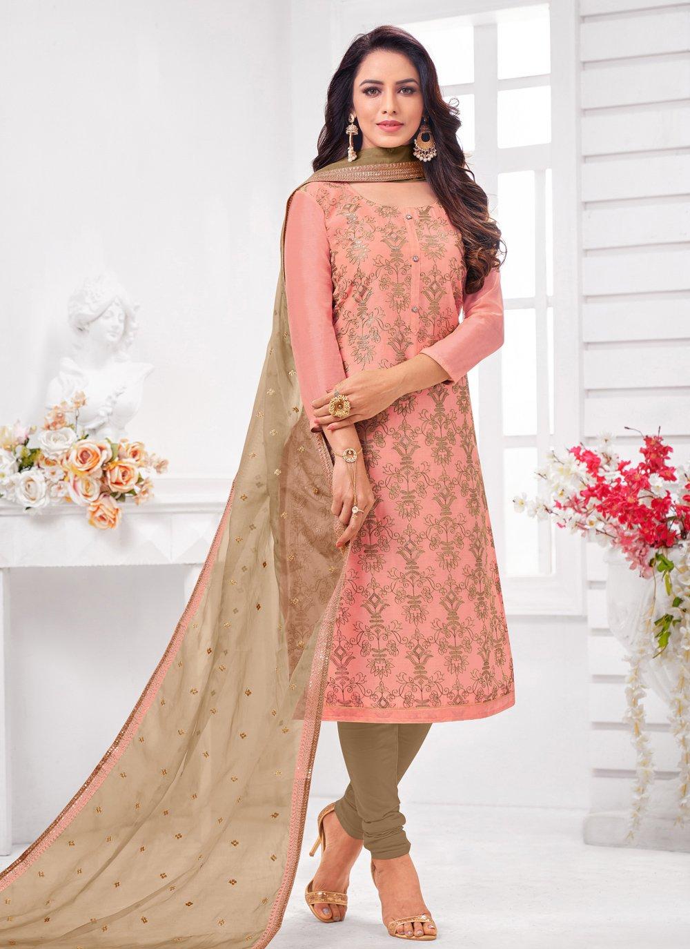 Pink Color Trendy Salwar Suit