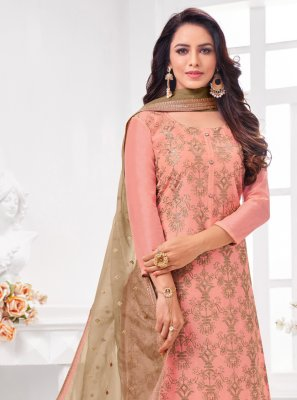 Pink Color Trendy Salwar Suit