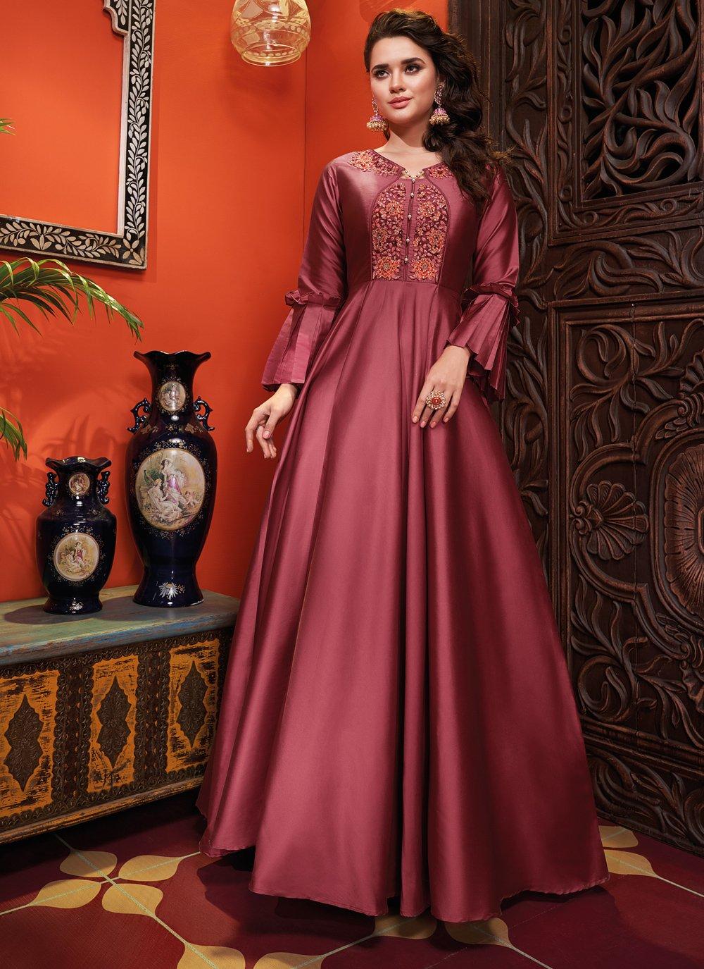 Pink Designer Gown