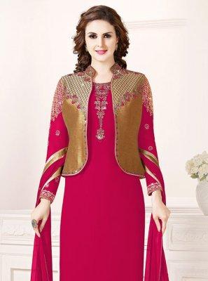 Pink Designer Salwar Kameez
