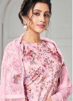Pink Digital Print Designer Pakistani Salwar Suit