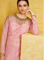 Pink Embroidered Salwar Kameez