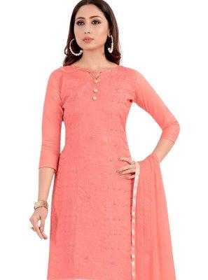 Pink Handwork Salwar Suit