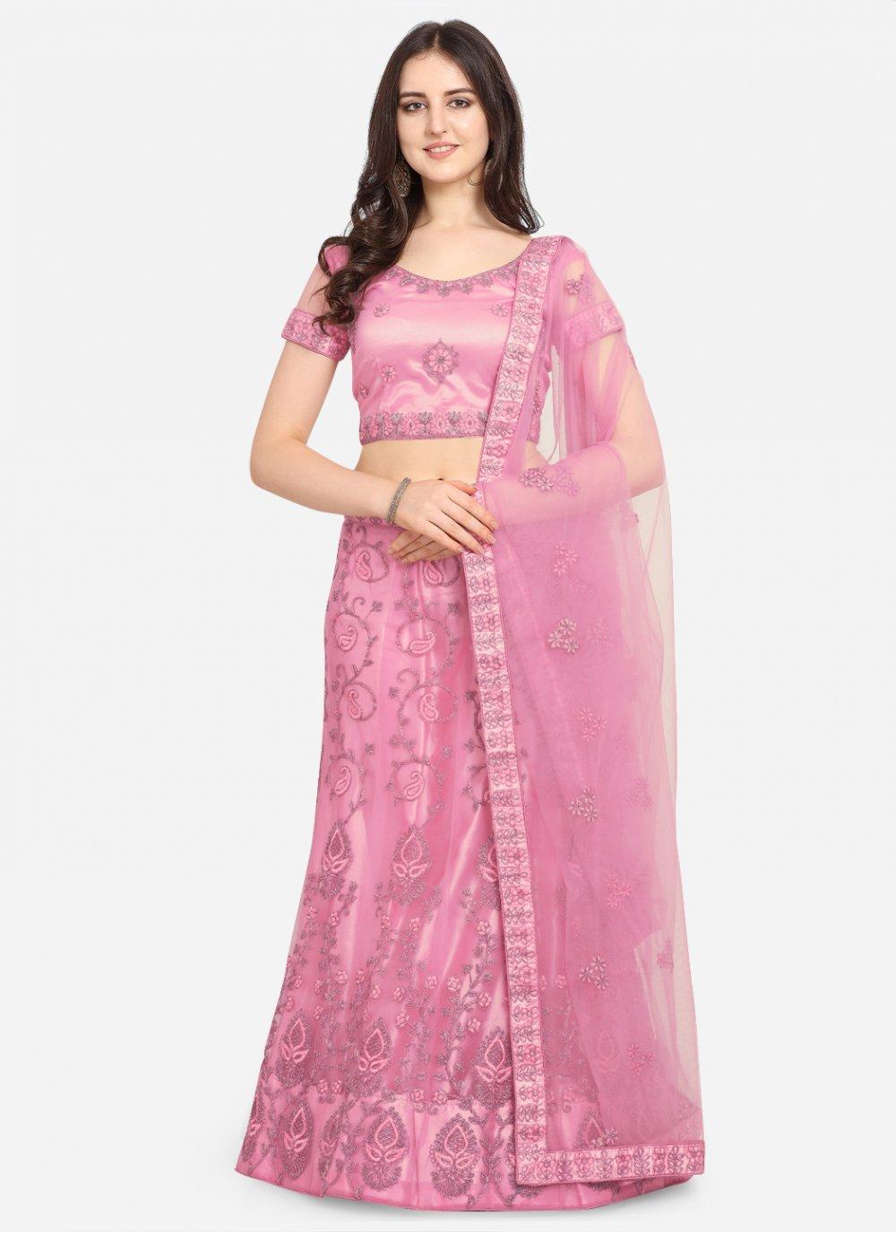 Pink Lehenga Choli
