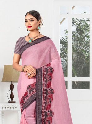 Pink Party Designer Saree