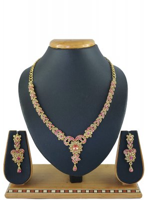 Pink Party Necklace Set