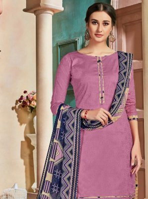 Pink Party Patiala Suit