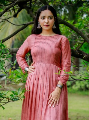 2 Pieces Rusty Pink Organic Munga Dress