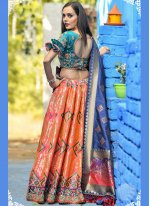 Pink Reception Lehenga Choli