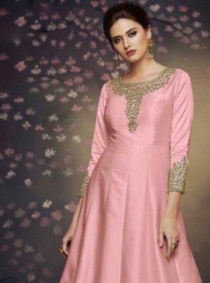 Pink Sangeet Salwar Suit