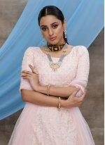 Pink Sequins Trendy Lehenga Choli