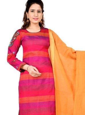 Pink Thread Festival Salwar Kameez