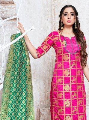 Pink Trendy Salwar Suit