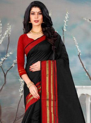 Plain Festival Casual Saree