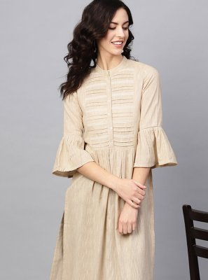 Plain Festival Party Wear Kurti