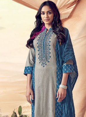 Polly Cotton Reception Pakistani Salwar Kameez