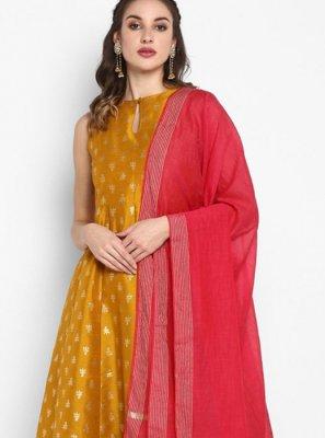 Poly Silk Designer Salwar Kameez