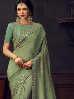 Poly Silk Party Classic Saree