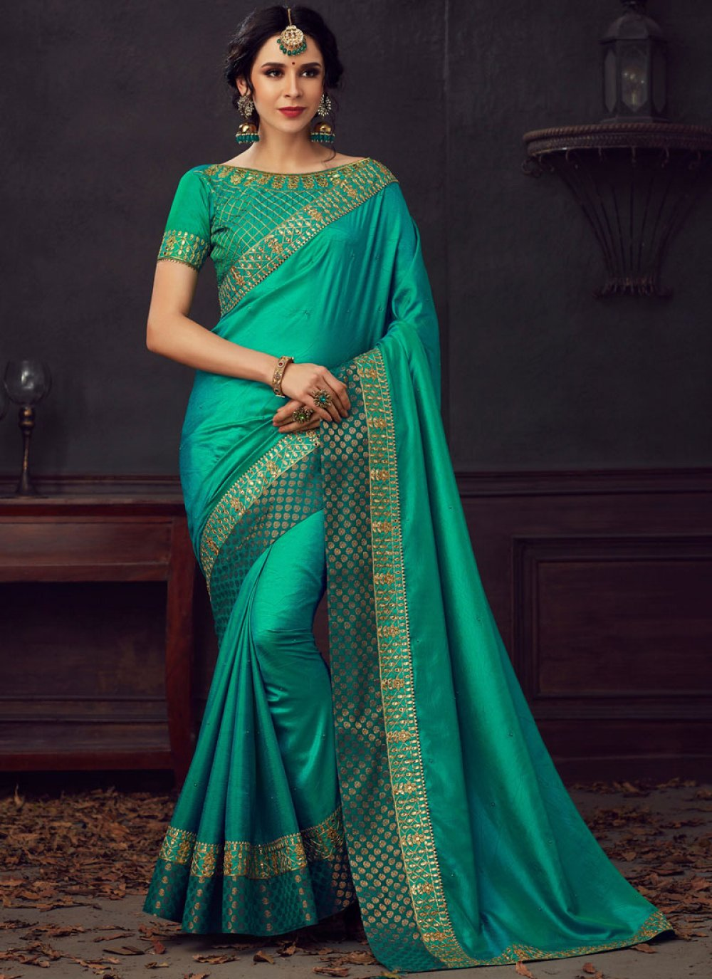 Poly Silk Reception Silk Saree