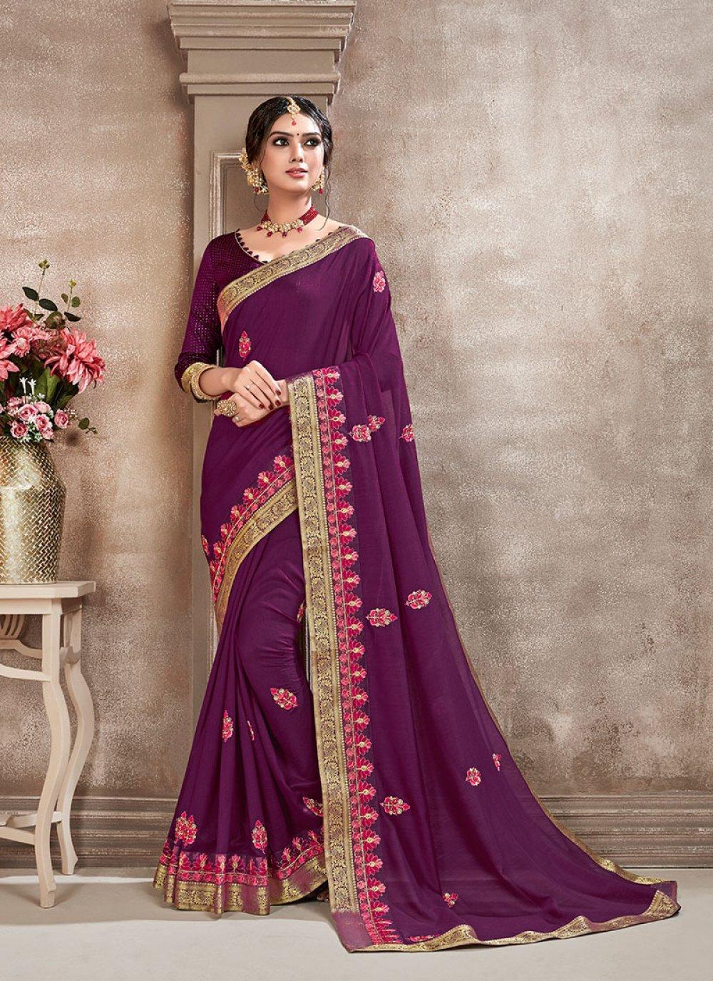 Poly Silk Sangeet Silk Saree