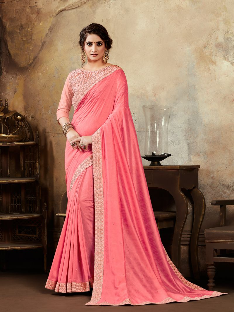 Poly Silk Sangeet Silk Saree