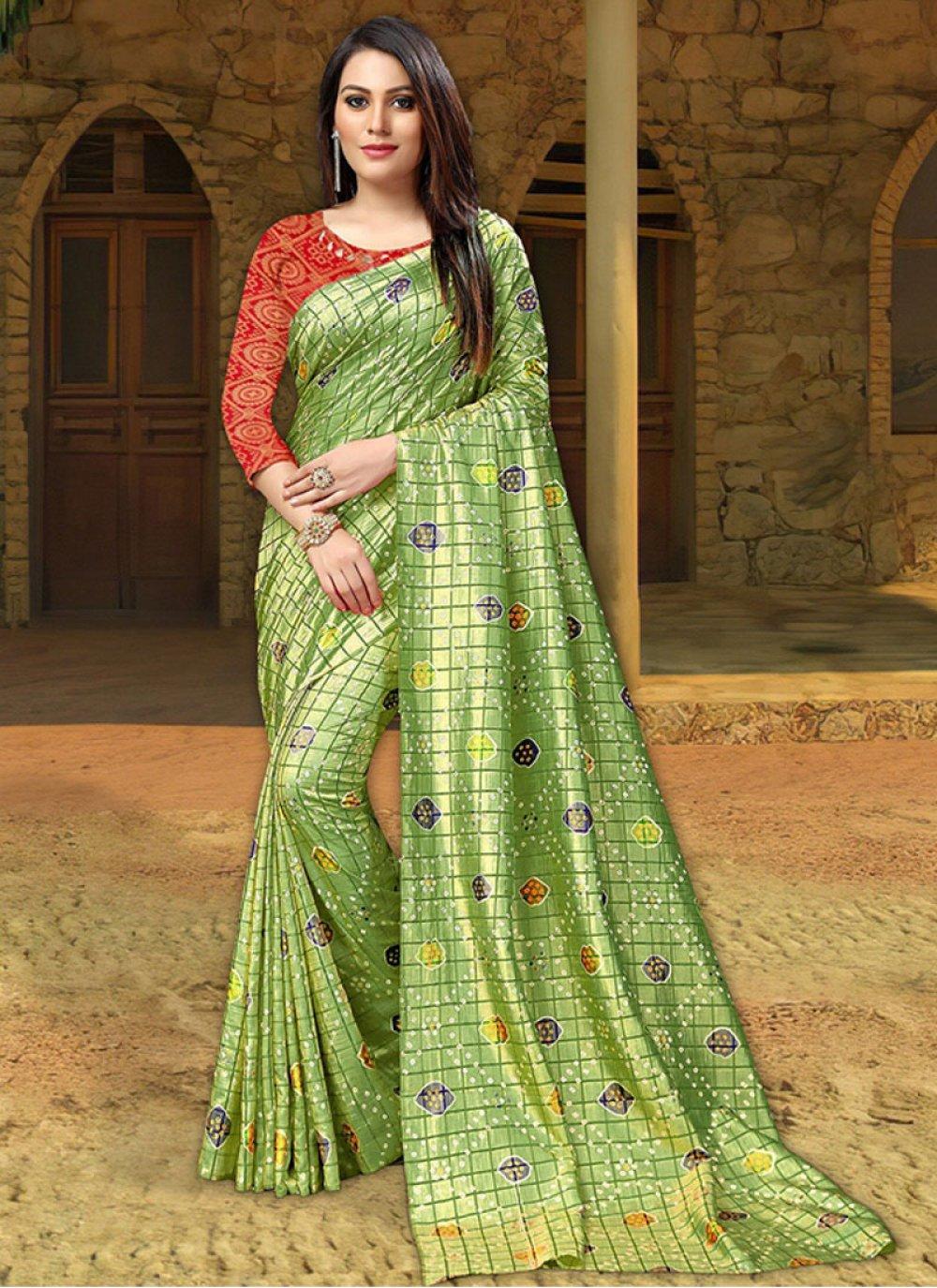 Print Ceremonial Classic Saree
