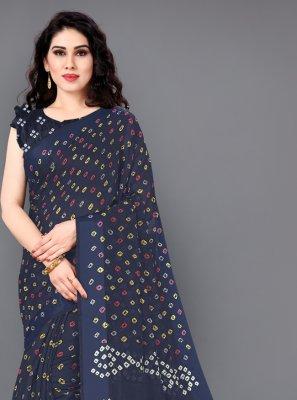 Print Cotton Classic Saree