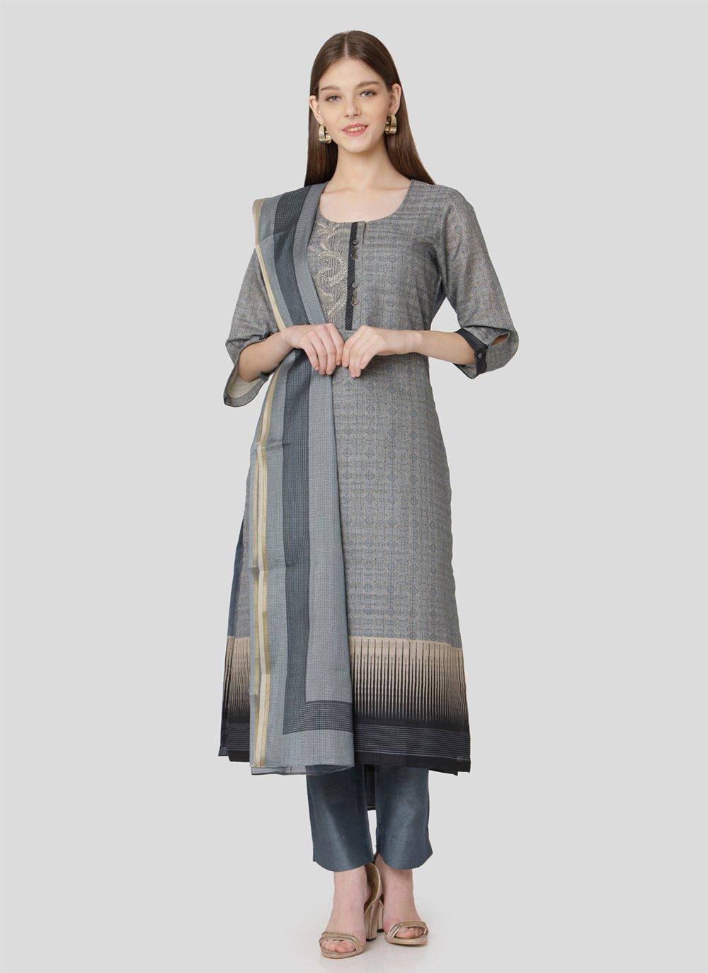 Print Engagement Salwar Suit