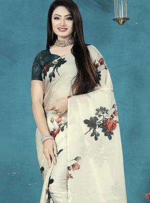 Print Printed Saree