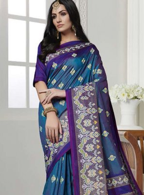 Printed Casual Casual Saree