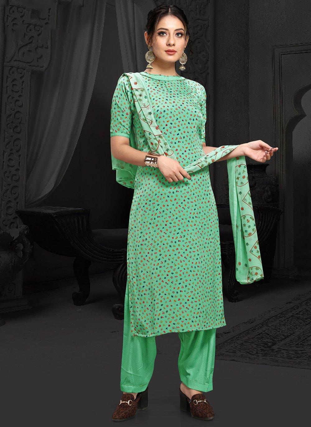 Printed Casual Designer Salwar Kameez