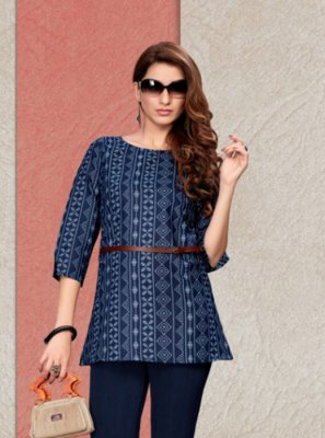 Printed Casual Party Wear Kurti