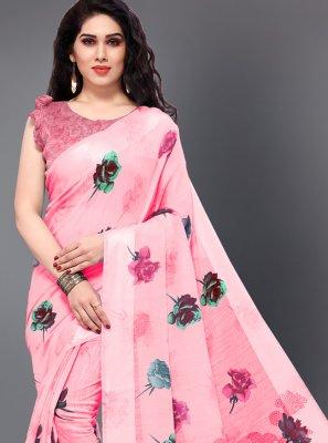 Printed Casual Saree